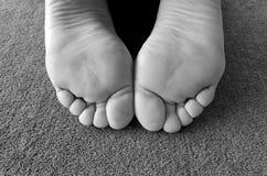 Womons-Füße Stockfotos