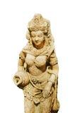 ταϊλανδικό womwn αγαλμάτων Στοκ εικόνα με δικαίωμα ελεύθερης χρήσης