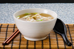 Won Ton Soup Stock Photography