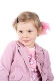 Wonder. Surprised little princess. Shot in studio Stock Image