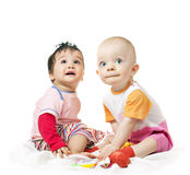 Wonder baby boys Stock Photo