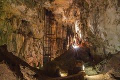 Free Wonder Cave Interior With Elevator 1 Stock Photo - 35405930