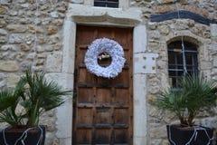 Wonder full Medieval village, France royalty free stock images