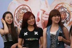 Wonder Girls in Singapore 11 Stock Images