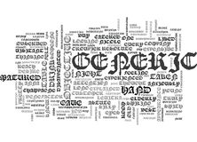 Wonder Medicine And The Best Conqueror Word Cloud Stock Image