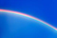 Wonder of the sky - rainbow Stock Photo