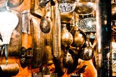 Wonder van artefacten in de oosterse markten royalty-vrije stock foto's