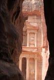 Wonder van de wereld Petra Royalty-vrije Stock Afbeeldingen