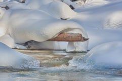 Wonder van de Winter Stock Foto's