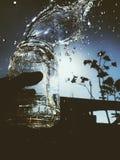 Wonder waterdaling stock foto