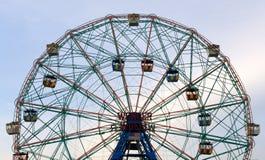 Wonder Wheel. Photo taken in Coney Island, New York in May 2008 Stock Photos