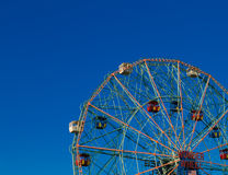 Wonder Wheel in Coney Island Royalty Free Stock Photo
