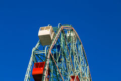 Wonder Wheel in Coney Island Royalty Free Stock Photos