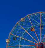 Wonder Wheel in Coney Island Stock Photography