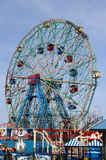 Wonder Wheel at the Coney Island amusement park Stock Image