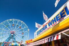 Wonder Wheel, Coney Island, New York Royalty Free Stock Images