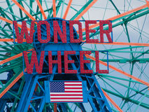 Wonder Wheel Stock Photography