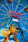 Wonder Wheel. The Famous Wonder Wheel - Coney island stock images