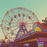 Wonder Wheel in New York City Royalty Free Stock Photo