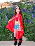 Wonder Woman Fotografia Stock Libera da Diritti