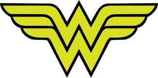 Free Wonder Woman Logo Stock Image - 140874101