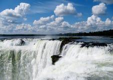 Wonder of the world falls  Iguasu Royalty Free Stock Photography