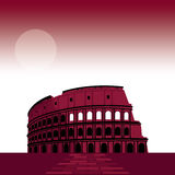 7 Wonder of the world Roman Colosseum Stock Images