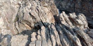 Wonderberg met narmada van riviermaa, Jabalpur India Stock Foto