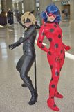 Wondercon 2016 at the Los Angeles Convention Center. Royalty Free Stock Photography