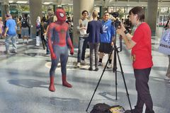 Wondercon 2016 at the Los Angeles Convention Center. Stock Photography
