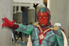 Wondercon 2016 at the Los Angeles Convention Center. Royalty Free Stock Image