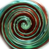 Wonderful abstract illustrated glass design Stock Photos
