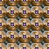 Wonderful abstract illustrated glass pattern Royalty Free Stock Image