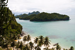 Wonderful Ang-thong Island, Thailand Royalty Free Stock Images