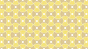 A wonderful background for a group of interlaced and gradient circles in colors between white,yellow and gold,and an abstract geom. Etric pattern,and fit the Royalty Free Stock Image