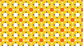 A wonderful background for a group of interlaced and gradient circles in colors between white,yellow,orange and gold,and an abstra. Ct geometric pattern,and fit Stock Image