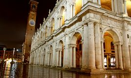 Wonderful Basilica PAlladiana work in VICENZA Stock Photography