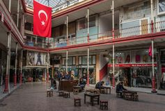 The wonderful bazaars of Istanbul, Turkey stock photo