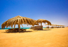 Wonderful Beach In The Egypt. Royalty Free Stock Images