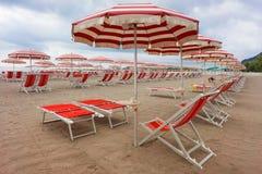 Wonderful beach in Liguria, Italy Royalty Free Stock Photos