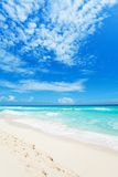 Wonderful beaches of Cancun, Mexico Stock Photo
