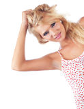 Wonderful blond women Royalty Free Stock Photo