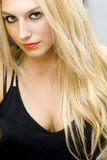 Wonderful blonde Royalty Free Stock Photo