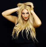 Wonderful blonde Stock Photography