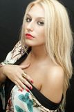 Wonderful blonde Royalty Free Stock Image