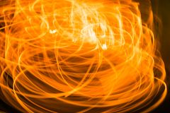 Blurred orange light moment background, Fire texture. The wonderful Blurred orange light moment background, Fire texture Stock Photography