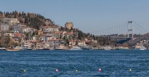 The wonderful Bosporus strait of Istanbul. Turkey stock photo