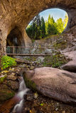 Wonderful bridges. Magnificent landscape of the natural arches in the Rhodope Mountains, Bulgaria Royalty Free Stock Photography