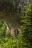 The Wonderful bridges. Wonderful bridges, Rock bridges are a rock phenomenon located in the karst valley of the Erkupriya River in the Western Rhodopes at 1450 m Stock Image