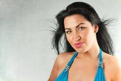 Wonderful brunette woman Royalty Free Stock Photo